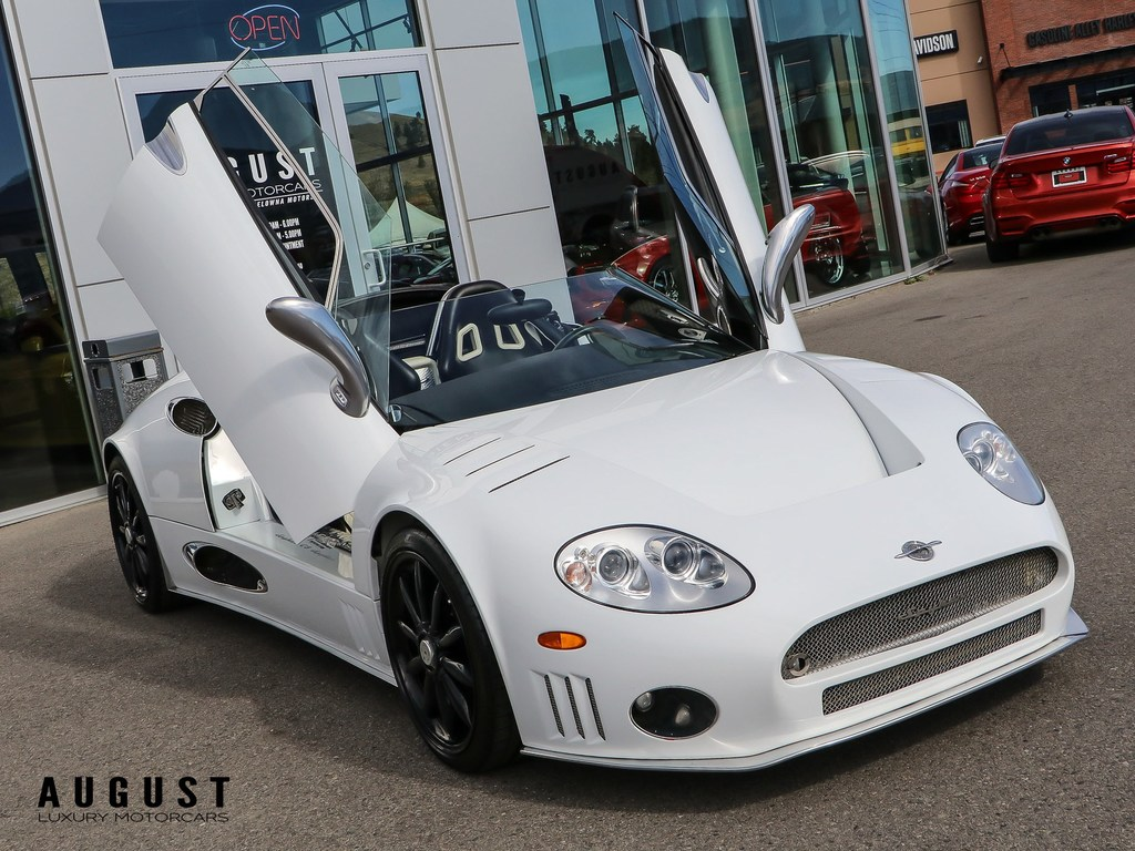 Pre-Owned 2009 Spyker C8 Spyder 1 of 2 in Canada