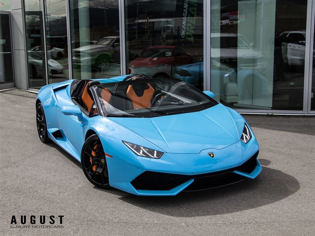 Pre-Owned 2016 Lamborghini Huracan LP610-4 With $30,000 in extras