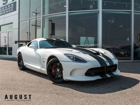 Pre-Owned 2014 Dodge SRT Viper GTS