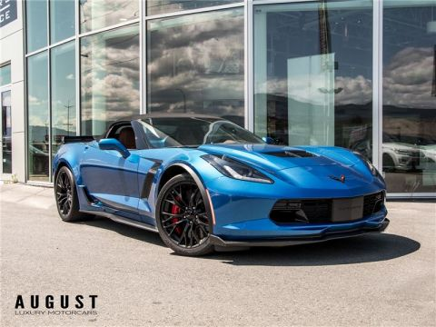 Pre-Owned 2016 Chevrolet Corvette Z06 3LZ WITH Z07 PACKAGE
