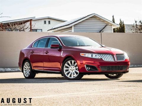 Pre-Owned 2009 Lincoln MKS AWD/V6/LEATHER/PANO-ROOF