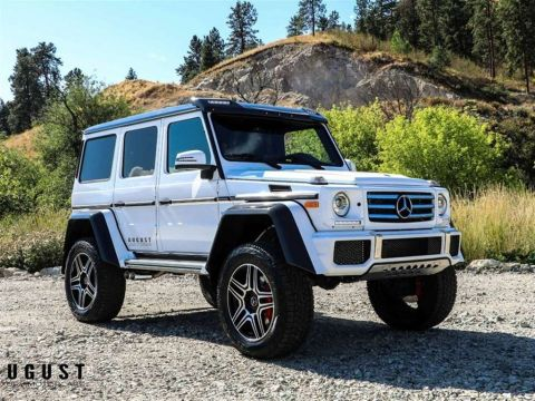 Pre-Owned 2017 Mercedes-Benz G-Class G550 4x4 Squared